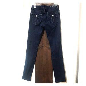 Vigors Studio, skinny low rise jeans
